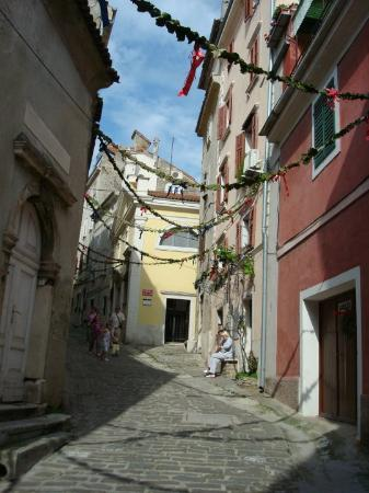 Slovenia, Piran - still on the way to St. George