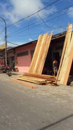 Lumber store in Iquitos.
