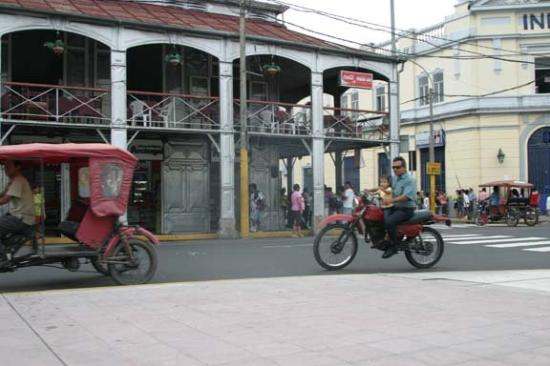 Iquitos, Peru: Another underage driver.