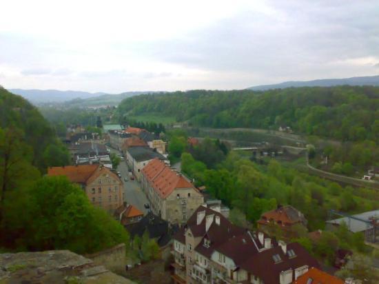 Glatz (Kłodzko), Polen: widok na Kłodzko z Twierdzy zapierał dech w piersiach ;P