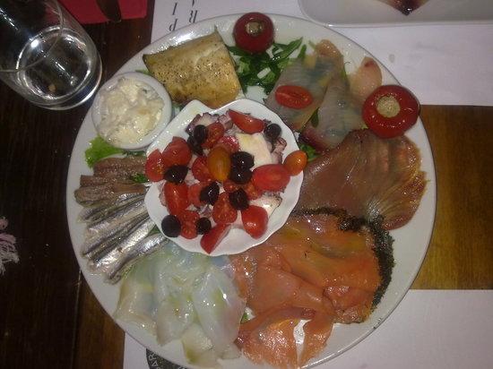 Enoiteca Mascareta: fish starters