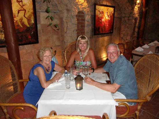 Frascati: A lovely night out with mom