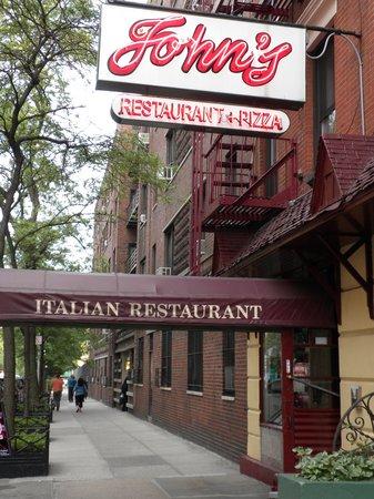 John's of 12th Street Restaurant : Restaurant Entrance
