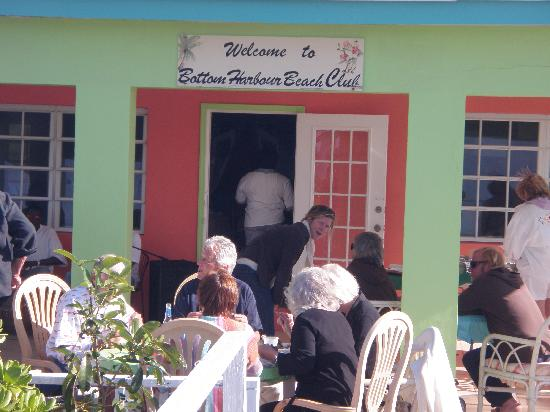 Bottom Harbour Beach Club: great place