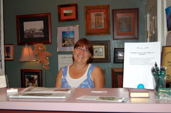 Heritage Inn: sue the innkeeper