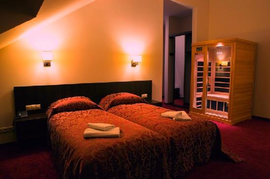 Rezidencija Grizulo Ratai: room, sauna