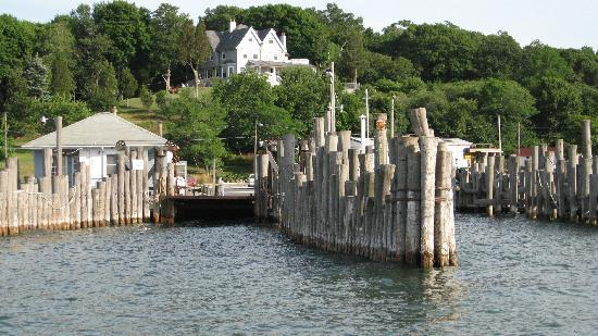 North Fork, État de New York : Shelter Island Dock