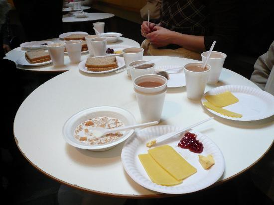 Smart Hyde Park Inn Hostel: Frühstück