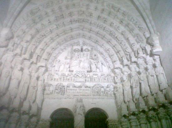 Salamanca, Hiszpania: Arco Románico Catedral Ciudad Rodrigo