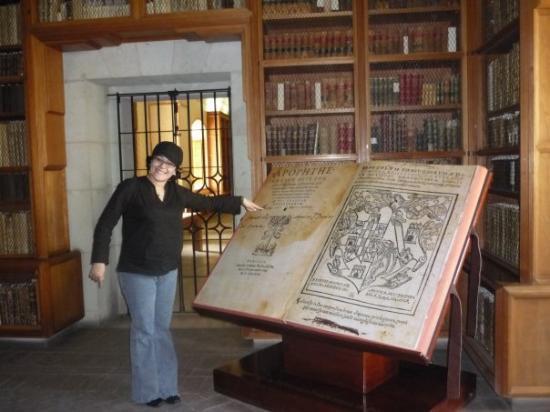 Cathedral of Oaxaca: en la biblioteca del ex convento