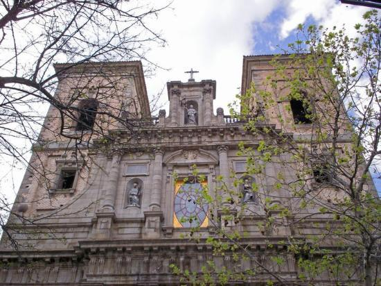 Iglesia de San Ildefonso Jesuitas: Iglesia de Los Jesuitas - Toledo