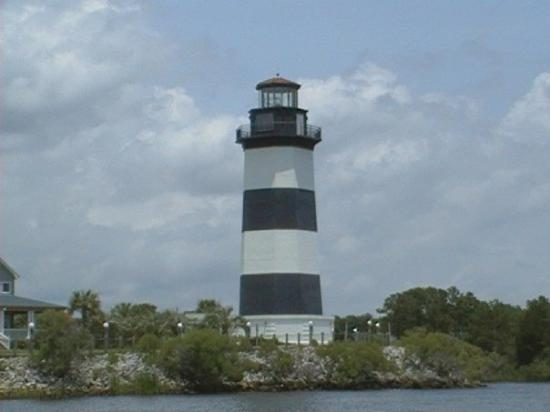 North Myrtle Beach Sc Lighthouse Seen On Boat Trip