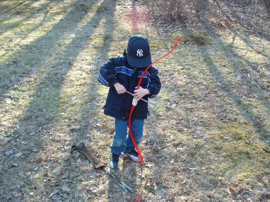 Drew back yard  archery in Flanders/Succasunna. NJ