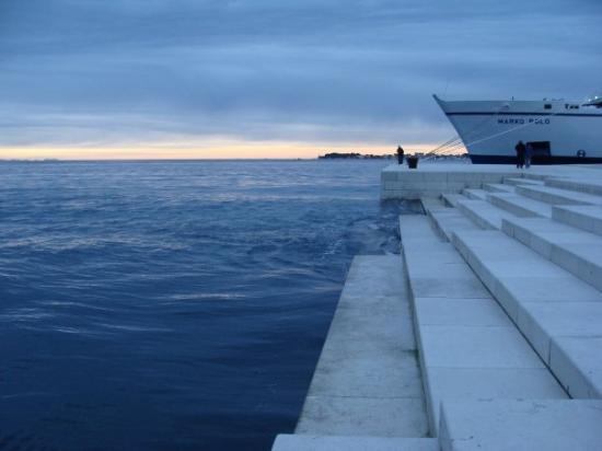 Zadar, Croacia: Orgulje
