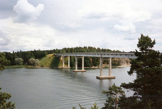 Naantali, ฟินแลนด์: Särkänsalmen silta