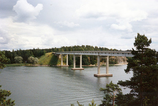 Naantali, فنلندا: Särkänsalmen silta