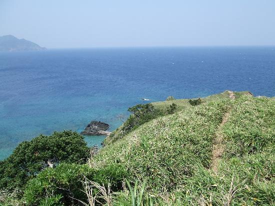 Sango Beach: ハイキングコース宮古崎