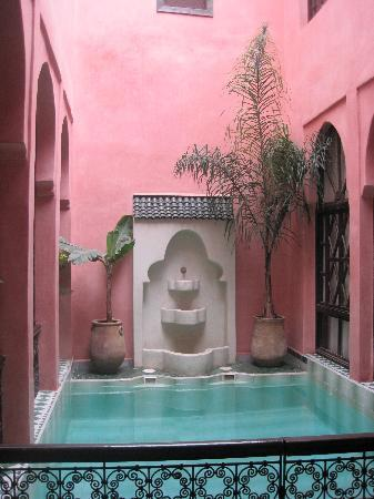 Riad Aderbaz: patio
