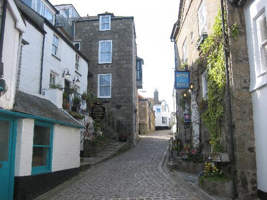 Bay St. Ives Bay Hotel: St Ives back-street
