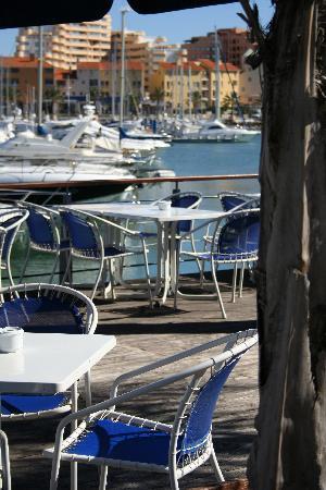 Restaurante Akvavit: Akvavit's water deck