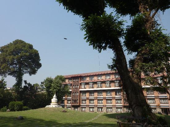 Malla Hotel: le parc