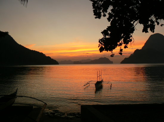 Hadefes Cottages : my first sunset.... tranquility at its best