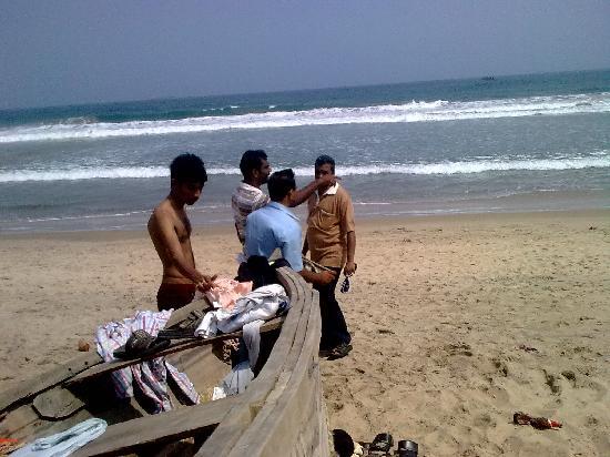 Rama Krishna Beach : My colleagues