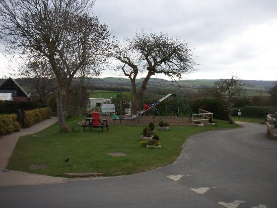 The Orchards Holiday Caravan and Camping Park: Older children play area