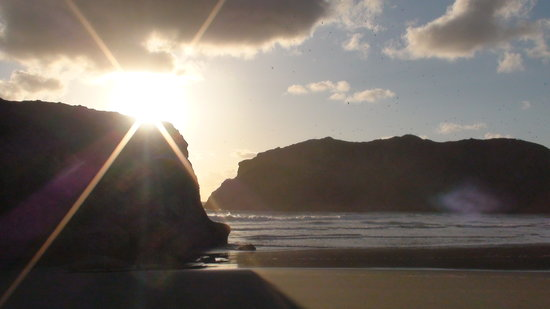 Bandon, Oregón: Just down the beach