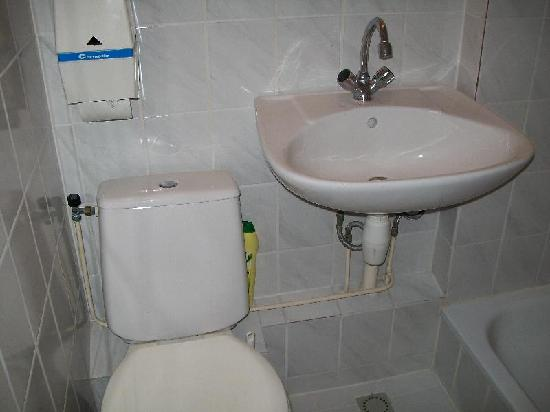 Hotel Beursstraat: el baño