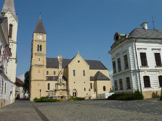 Castle Hill (Veszpremi Varhegy) : Cathedral of St. Michael