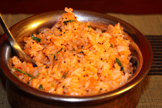 Mumtaz Indian Restaurant: rice