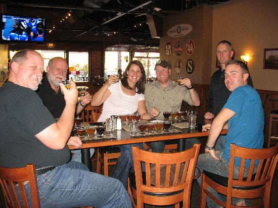 Brewery Buzz: Group at Draft House