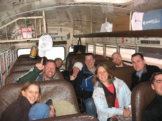 Brewery Buzz: on the bus