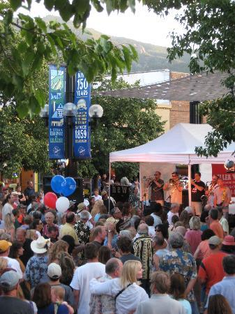 Downtown Boulder's Bands on the Bricks