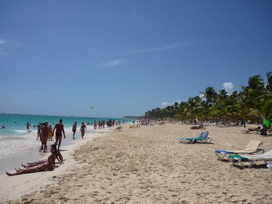 Hotel Riu Naiboa : The Beach