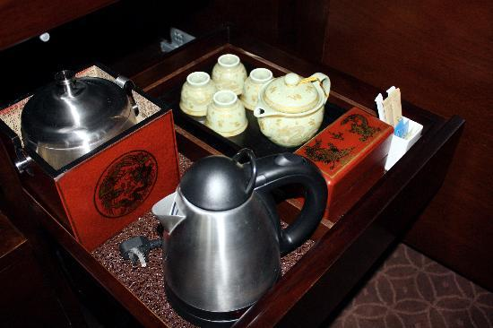 Fairmont Beijing: tea service