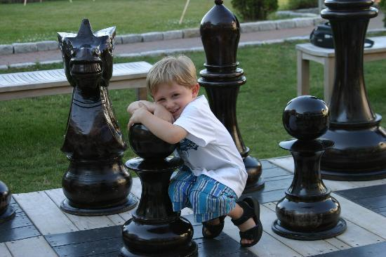 Winnetu Oceanside Resort: How about a game of chess? Our outdoor, life-size chess set takes the game to another level.