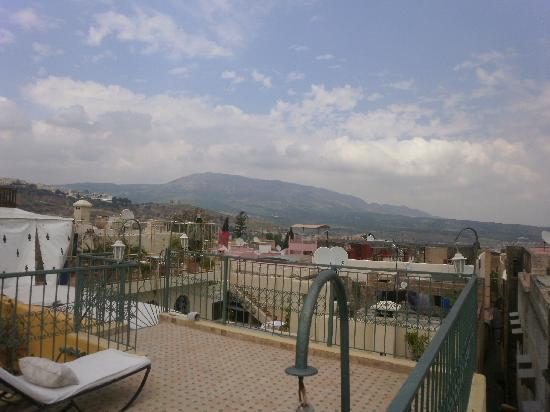 Riad Dar Cordoba: vistas desde la terraza