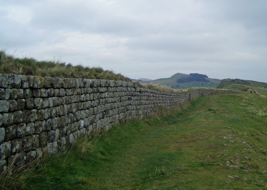 Хексхам, UK: Hadrian's Wall