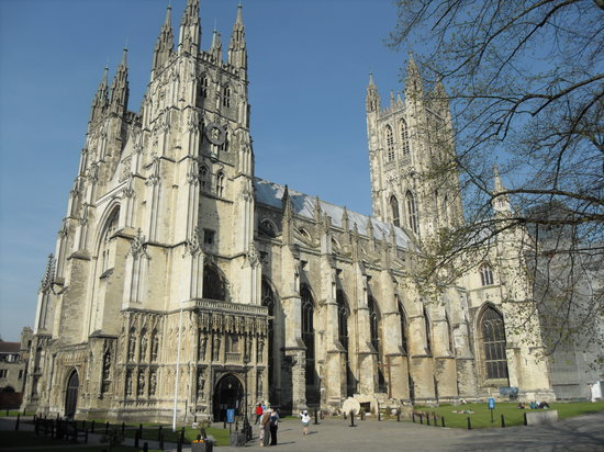 Upper Harbledown, UK: Canterbury Cathedral