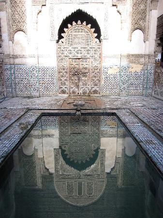 Sahrij Medersa : Medersa door and reflection