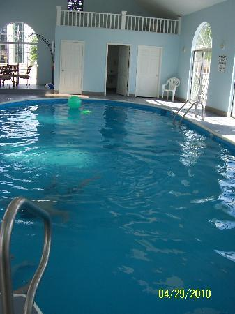 Carriage House Inn: Indoor Pool