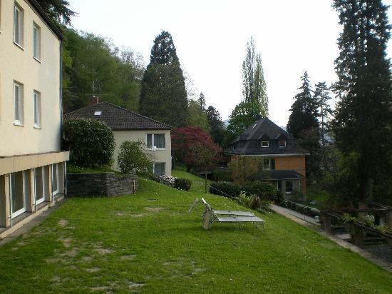 Caritas Tagungszentrum: Sector de habitaciones (las 3 casas)