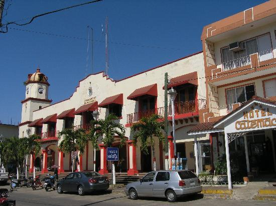 Catemaco, Meksiko: Main square