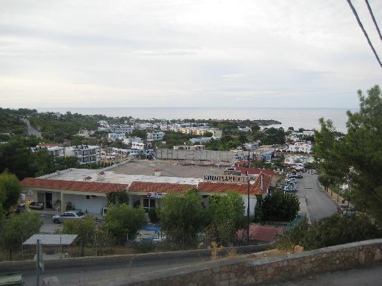 Pefkos View Studios & Apartments: Utsikten