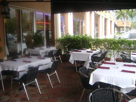 Restaurant La Villa: Terrace