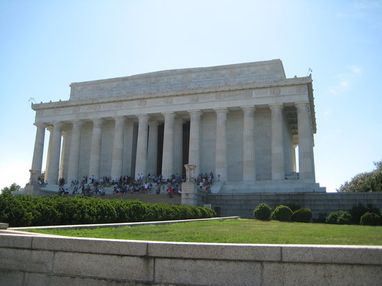 Bike and Roll DC : The Lincoln Memorial
