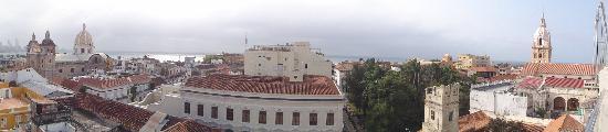 Movich Hotels Cartagena de Indias: Terrace view