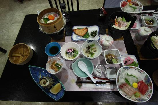 Fukaura-machi, Ιαπωνία: 夕食